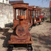 Vonat díszítés, rönk játékok