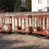 Pónis vonat rönk játszótéren