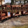 Rönk játékok - pónis vonat díszítés