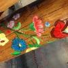 Kalocsai díszítéses rönk játszótér