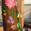 Kalocsai virágos rönk játszótér