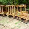 Rönk játszótér - mozdony