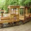 Fa vonat, rönk játszótér