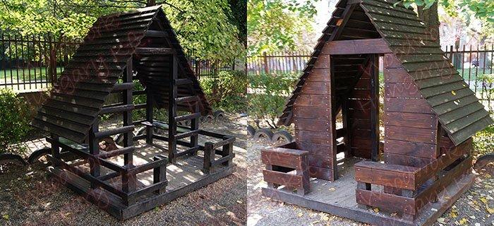 Kerti faház felújítás