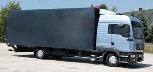 Rönk játékok kiszállító teherautó