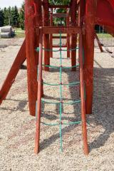 Kötélhálós mászófal